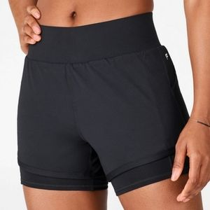 Fabletics Olesia Gym Shorts in Black